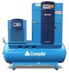máy nén khí có dầu tích hợp bình chứa