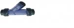 Lọc nhựa Y, Lọc Y-Strainer UPVC PVC