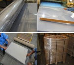 transparent PET Film Pet sheet for UV offset-printing and screen-printing