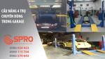 Thiết bị nâng hạ chuyên dùng trong Garage sửa chữa ô tô