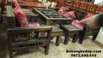 Bộ bàn ghế gỗ mun cho phòng khách đẹp sang B244