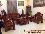 Bộ Bàn Ghế Phòng Khách Mẫu Mới Dành Cho Biệt thự B255