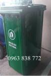 Thùng rác 240l nhựa hdpe  giá rẻ