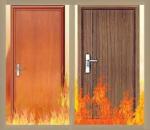 Cửa gỗ chống cháy 60