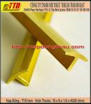Nẹp đồng T15 mm trơn - nẹp kết nối sàn