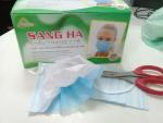Khẩu trang y tế 3 lớp Sang Hà chất lượng tốt giá sỉ tại HCM