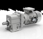 Động cơ điện Enertech và Giảm tốc Transtecno