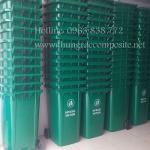 Thùng rác nhựa 240L - Thùng rác công cộng