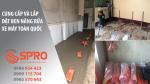 Kích nâng rửa xe máy chuyên dùng tại Việt Nam