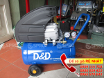 Máy nén khí mini D&D RAC1524A 2 HP - Dung tích 24L giá rẻ