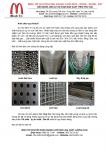 Chuyên cung cấp Lưới Inox chống muỗi, lưới làm hàng rào, Lưới các loại!