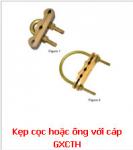 Kẹp cọc tiếp địa hoặc ống với 3 cáp
