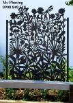 Tấm Panel cắt CNC trang trí sân vườn