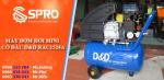Spro-Mua máy bơm hơi mini có dầu D&D RAC1524A + Quà tặng hấp hẫn