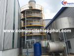 Tháp xử lý khí thải composite