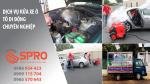 Dịch vụ rửa xe di động bằng máy rửa xe hơi nước nóng