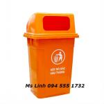 Thùng rác 95 lít nắp bật giao hàng toàn quốc!
