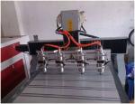 Máy đục- khắc tượng- tranh 3D CNC 8090 - 4 đầu giá 80 triệu
