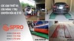 Bảng báo giá cầu nâng 1 trụ chuyên rửa xe ô tô