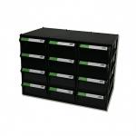 Tủ linh kiện chống  tĩnh điện 12 ngăn CA507C