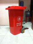 Thùng rác composite 120 lít, thùng rác chịu nhiệt call 096.7788.450