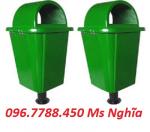 Thùng rác nhựa composite 55 lít, thùng rác 55 lít call 096.7788.450