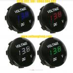 Đồng hồ đo điện áp bình ắc quy ô tô, xe máy