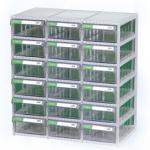 Tủ linh kiện 18 ngăn CA507-6