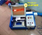 Máy khắc dấu laser, máy laser cắt cao su giá rẻ