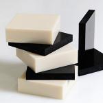 Nhựa tấm PB 108 (Poly Urethane) màu trắng và màu đen