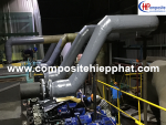 Hệ thống ống nhựa FRP dẫn khí thải