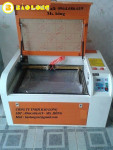 Máy laser khắc dấu, máy laser cắt khắc cao su