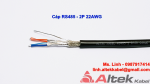 Cáp tín hiệu vặn xoắn chống nhiễu RS485 - 22AWG