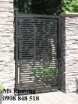 Cửa sắt, cổng sắt cắt CNC nghệ thuật