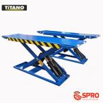 Cầu nâng cắt kéo titano giá cạnh tranh