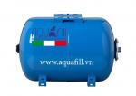 Bình tích áp Aquafill 50L 10bar dạng nằm