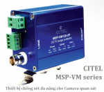 MSP-VM-230-2P Thiết bị chống sét cho camera (2xRS485,BNC,230Vac)