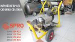 Máy rửa xe áp lực cao Urali nhập khẩu chính hãng từ Italia