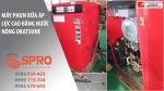 Spro - Máy phun rửa nước nóng vệ sinh nhà xưởng công nghiệp