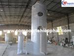 Tháp xử lý khí bằng nhựa FRP