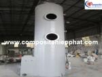 Tháp composite xử lý bụi