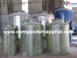 Bồn nhựa FRP chứa nước thải