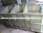 Bồn nhựa composite  FRP xử lý nước thải