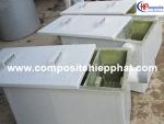 Bồn tách mỡ bằng nhựa composite