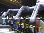 Ống nhựa FRP dẫn khí thải