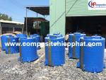 Bồn composite chứa hóa chất Hcl