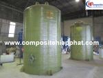 Bồn nhựa composite chứa hóa chất Hcl