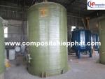 Bồn composite FRP chứa nước sạch