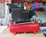 Máy bơm hơi mini có dầu 1.5HP WING ZBM-0.067/8-8L - Dung tích 8L