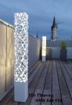 Hàng rào kim loại cắt CNC nghệ thuật, hoa văn đẹp